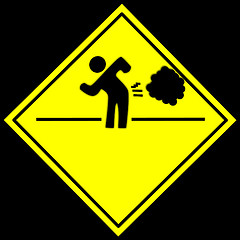 Farting sign