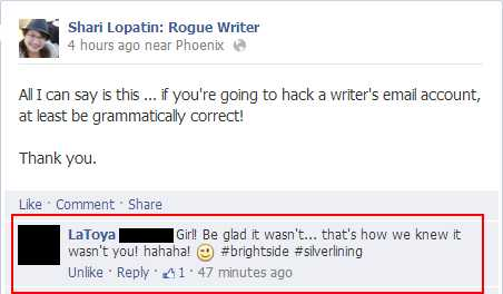 Facebook hacker convo