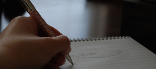 Hand writing with pen_cropped